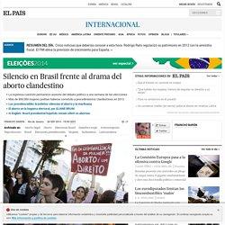 Silencio en Brasil frente al drama del aborto clandestino