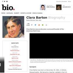 Clara Barton Biography
