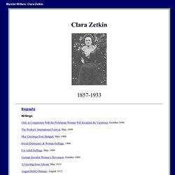 Clara Zetkin Internet Archive