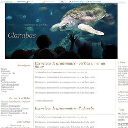 Clarabas - maitresse de CP-CE1