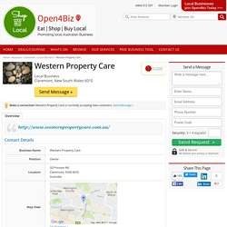Claremont Local Business - Western Property Care - Local Business