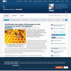 Clarification des règles d'étiquetage du miel contenant du pollen transgénique
