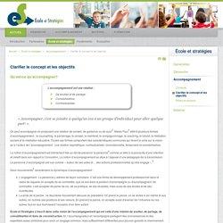 Clarifier le concept et les objectifs - École et Stratégies