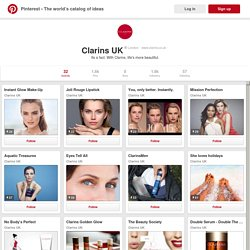 Clarins UK on Pinterest