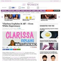 'Clarissa Explains It All'