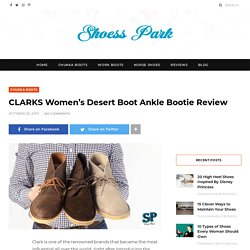 CLARKS Women's Desert Boot Ankle Bootie Review in 2020