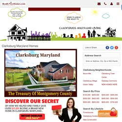 Clarksburg MD Homes For Sale