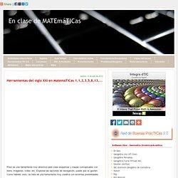 Herramientas del siglo XXI en MatemáTICas 1,1,2,3,5,8,13,...