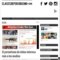 El periodismo de datos interesa más a los medios