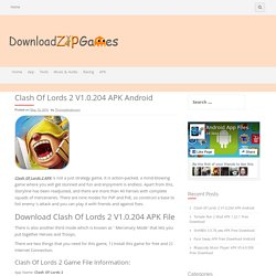 Clash Of Lords 2 V1.0.204 APK Android - DownloadZipGames
