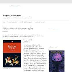 20 libros clásicos de la literatura española