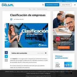 ▷ Clasificación de Empresas