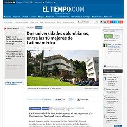Los Andes, sexta en la clasificación de universidades latinoamericanas - Noticias de Salud, Educación, Turismo, Ciencia, Ecología y Vida de hoy