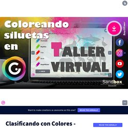 Clasificando con Colores - Plantilla exclusiva by Sandbox Educación on Genially
