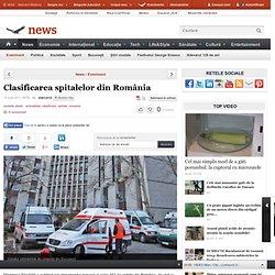 Clasificarea spitalelor din România