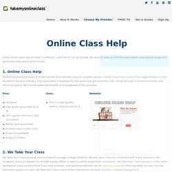 Take My Online Class