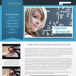 Top of the Class Home Tutoring Castle Hill, Sydney NSW