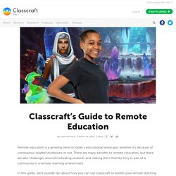 's Guide to Remote Education