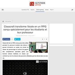 Classcraft transforme l'école en un RPG conçu spécialement pour les étudiants et leur professeur