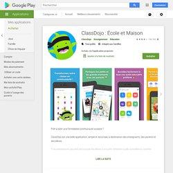 ClassDojo – Applications sur GooglePlay