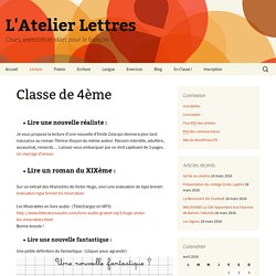 L'Atelier Lettres