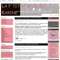 La p'tite classe de Karine - Méli Mélo de trucs et astuces pédagogiques pour le cycle3