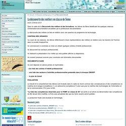 Le PDMF 2012-2013 en classe de 5ème - Collège Olympe de Gouges