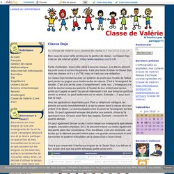 Classe Dojo - Classe de Valérie
