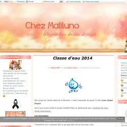 Classe d'eau 2014