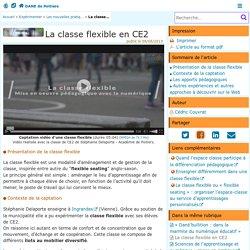 La classe flexible en CE2 - DANE de Poitiers