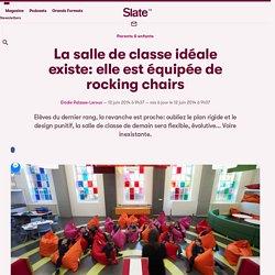La salle de classe idéale existe: elle est équipée de rocking chairs