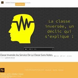 Classe Inversée Au Service De La Classe Sans Notes.