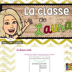 La classe de Laura: La division écrite