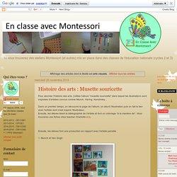 En classe avec Montessori: arts visuels