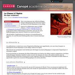 La Classe à l'Opéra Die Oper entdecken