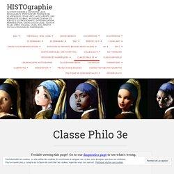 Classe Philo 3e