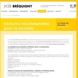 La classe de Seconde -Lyc e Br quigny
