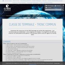 Classe de Terminale - Tronc commun