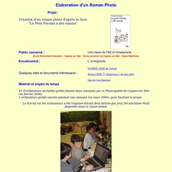 Classe TICE Ecole Daudet 2