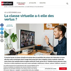 La classe virtuelle a-t-elle des vertus?