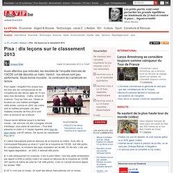 Pisa : dix leçons sur le classement 2013