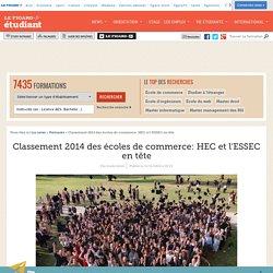 Classement 2014 des écoles de commerce: HEC et l'ESSEC en tête