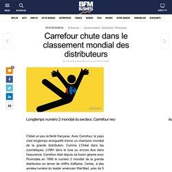 Carrefour chute dans le classement mondial des distributeurs