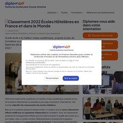 Classement des écoles hôtelières en France et dans le monde