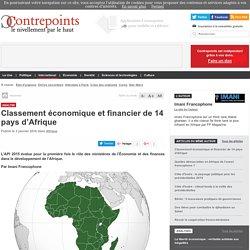Classement économique et financier de 14 pays d'Afrique