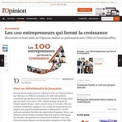 Classement des 100 entrepreneurs qui feront la croissance