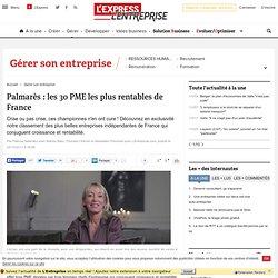 Classement : les 30 PME les plus rentables de France