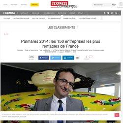 ENQUÊTE PERFORMANCES : Classement: les 150 entreprises les plus rentables de France