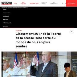 Classement 2017 de la liberté de la presse (RSF)