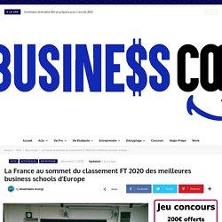 La France au sommet du classement FT 2020 des meilleures business schools d'Europe